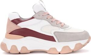 Buty sportowe Hogan sznurowane z płaską podeszwą