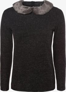 Czarny sweter Esprit w stylu casual z plaru