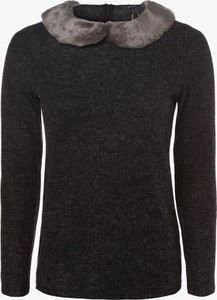 Czarny sweter Esprit z plaru