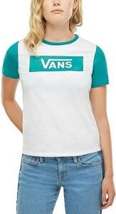 T-shirt Vans z okrągłym dekoltem z krótkim rękawem