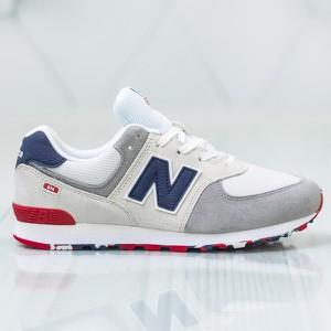 Buty sportowe New Balance w sportowym stylu na koturnie