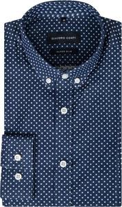 Granatowa koszula giacomo conti