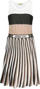 Sukienka Versace Jeans bez rękawów midi