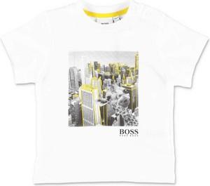 Koszulka dziecięca Hugo Boss z krótkim rękawem dla chłopców