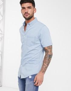 Koszula New Look z krótkim rękawem z jeansu