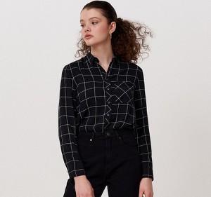 Czarna koszula Cropp