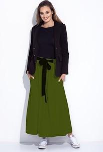 Zielona spódnica Bien Fashion z tkaniny maxi