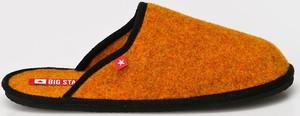 Pomarańczowe kapcie Big Star