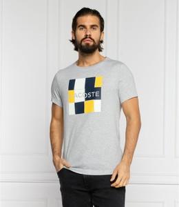 T-shirt Lacoste z krótkim rękawem w młodzieżowym stylu z bawełny