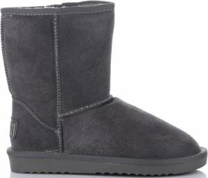 Śniegowce Crystal Shoes na koturnie