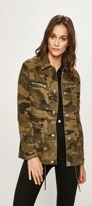 Zielona kurtka Tally Weijl w stylu casual z bawełny