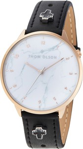 Zegarek THOM OLSON - Free-Spirit Black Cross CBTO014 Black/Rose Gold