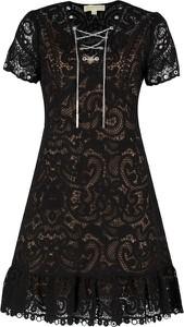 Sukienka Michael Kors z krótkim rękawem trapezowa