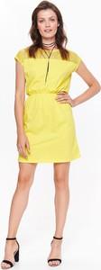 Żółta sukienka Top Secret