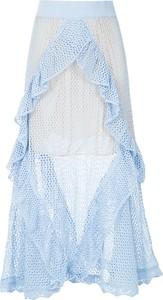 Niebieska spódnica Cecilia Prado maxi