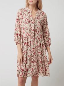 Sukienka Free/quent z długim rękawem koszulowa