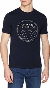 T-shirt Armani Jeans w młodzieżowym stylu