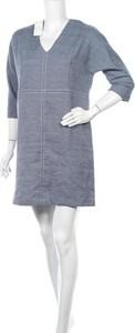 Sukienka La Redoute z długim rękawem w stylu casual prosta
