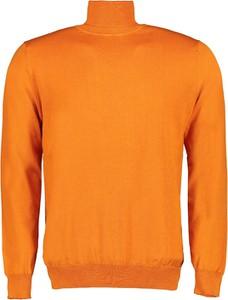 Pomarańczowy sweter Lavard