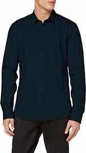Koszula amazon.de z długim rękawem z włoskim kołnierzykiem