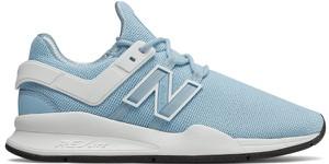 63e2298b Niebieskie buty sportowe New Balance w sportowym stylu sznurowane