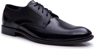 Czarne półbuty Bednarek Polish Shoes sznurowane