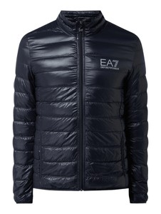 Granatowa kurtka Emporio Armani w stylu casual