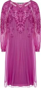 Różowa sukienka Alberta Ferretti