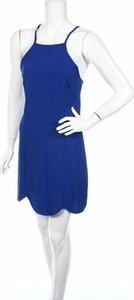 Niebieska sukienka Dee Elle mini prosta