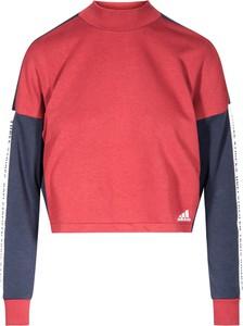 7832a5344 Czerwone swetry i bluzy damskie sportowe Adidas, kolekcja lato 2019