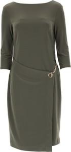 Sukienka Joseph Ribkoff midi z długim rękawem