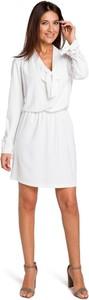 Sukienka Merg w stylu casual z długim rękawem