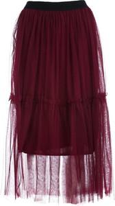 Czerwona spódnica Multu