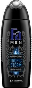 Fa, Men Polynesia Elements Tropic Storm, żel pod prysznic do mycia ciała i włosów dla mężczyzn, 400 ml