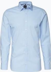 Błękitna koszula olymp no.6 six