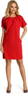 Sukienka Made Of Emotion trapezowa z krótkim rękawem mini