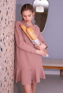 Różowa sukienka FEMESTAGE Eva Minge mini