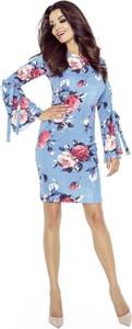Sukienka Nubile z okrągłym dekoltem w stylu casual