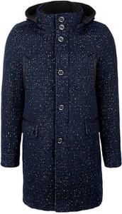 Niebieski płaszcz męski S.Oliver