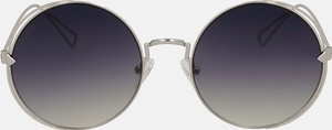 Srebrne okulary damskie Kazar