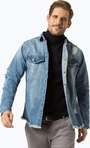 Niebieska kurtka Redefined Rebel z jeansu