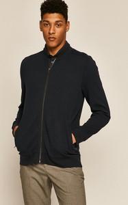 Granatowa bluza Medicine z dzianiny w stylu casual