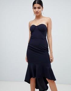 Granatowa sukienka Ax Paris