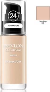 Revlon, ColorStay, podkład z pompką do cery normalnej i suchej z formułą SoftFlex, 250 Fresh Beige, 30 ml
