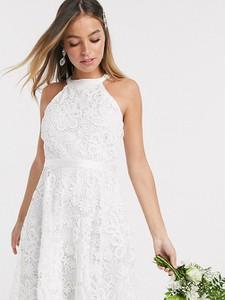 Sukienka Y.a.s Petite z dekoltem halter bez rękawów