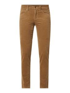 Brązowe spodnie Cambio w stylu casual