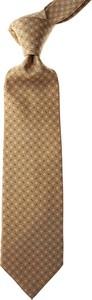 Brązowy krawat Marinella