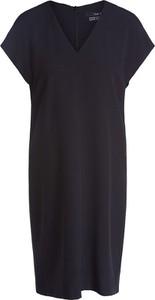 Czarna sukienka Set z krótkim rękawem w stylu casual