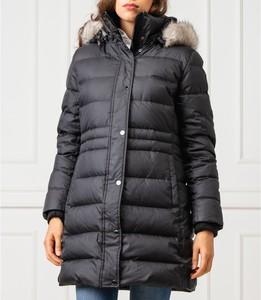 Czarny płaszcz Tommy Hilfiger