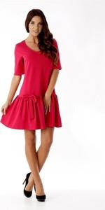 4f50df494a sukienka czerwona obcisła - stylowo i modnie z Allani